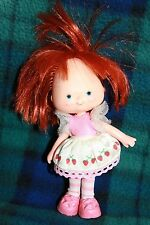 Rare Vintage small little STRAWBERRY SHORTCAKE Doll American Greetings Corp