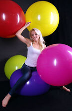 RIFCO 250er (80cm+ Ø) Riesen- Luftballon + ballrund + Riesen- Kugel- Ballon