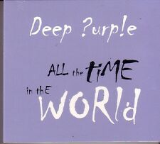 """Deep PURPLE """"all the time in the World"""" 4 Track Maxi CD nel DIGIPACK RARE"""