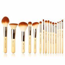 Jessup 15pcs Bamboo Makeup Brush Set Cosmetic Brushes Kits Make up Tools T140 US