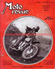 MOTO REVUE 1130 JONGHI 250 H MOLINARI HOFFMAN GABBIANO ADLER TRIUMPH PUCH 1953