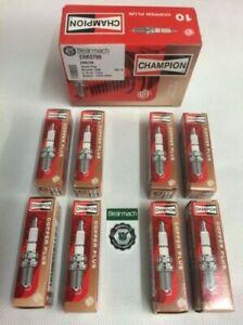 Land Rover Defender V8 Petrol Spark Plug Set x8 - CHAMPION OEM -ERR3799