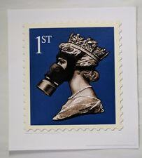 J Cauty Stamp of Mass Destruction Terror Aware QE2 1st EDT 50, Banksy dismaland.