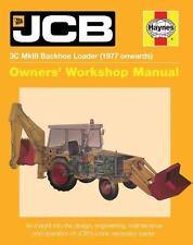 HAYNES JCB 3C MKIII BACKHOE LOADER 1977 ONWARDS REPAIR MANUAL