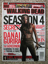 The Walking Dead Official Magazine #7 Winter 2014 Danai Gurira Robert Kirkman