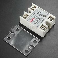 #SSR-40DA Solid State Relay w/ Cover 24V-380V 40A For PID Temperature Controller