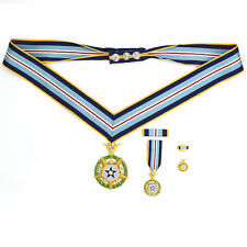 Cased US Order Space MOH,Congressional Space Medal of Honor, Neckribbon V. Rare