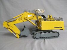"Conrad Liebherr Lithronic 996 Backhoe Excavator ""Vinci Construction"" 1/50 - USED"