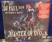 DJ Paul - Master of Evil CD SEALED Three Six Mafia 3 6 insane clown posse icp