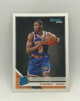 RJ Barrett 2019-20 Panini Donruss Rated Rookie RC #203 - New York Knicks