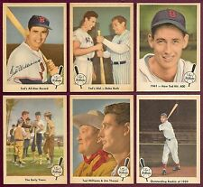 1959 Fleer Ted Williams Near Complete Set 79 of 80 (No #68)