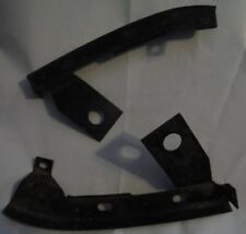USED 1975-1979 GM FRONT FENDER BRACKETS - BUMPER RETAINERS PAIR RIGHT & LEFT