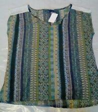 NEW Prana Women's Lightweight Organic Cotton Sleeveless Top Size Small