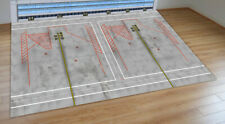 1/200 SCALE MODEL AIRPORT LAYOUT WIDEBODY PARKING SLOTS WITH BACK SCENE