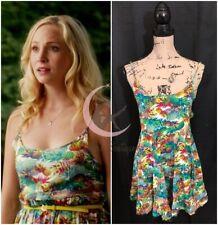 ASO Caroline Forbes Eight Sixty Pineapple Express Dress Sz S The Vampire Diaries