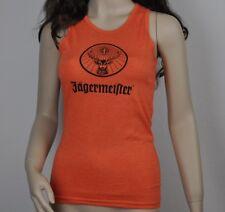Jägermeister USA Débardeur T-Shirt femmes taille S ORANGE Cerf Rudi LOGO chemise