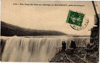 CPA Une Crue du Cher au Barrage de Rochebut,prés Montlucon (263022)