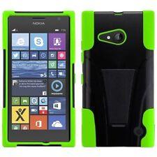 Étuis, housses et coques avec clip vert pour téléphone mobile et assistant personnel (PDA) Nokia