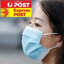50pcs Face Mask 3 Layer Protective Mouth Masks Filter Respirator Daily