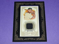 2012 Allen & Ginter BRIAN McCANN Game Used Jersey SP Atlanta Braves - NY Yankees