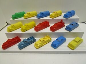 VINTAGE RENWAL PLASTIC VEHICLE LOT  ***EXCELLENT***