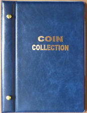 Small COIN STOCK ALBUM for 50c COIN COLLECTION Holds 90 COINS