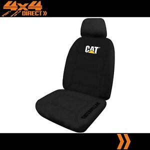 SINGLE CATERPILLAR CAT NEOPRENE SEAT COVER FOR FORD EXPEDITION