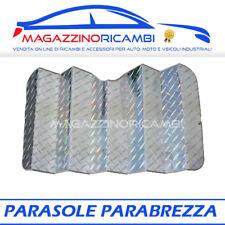 PARASOLE PARABREZZA ANTERIORE  CM140X80 LAMPA 66847 ARGENTATO