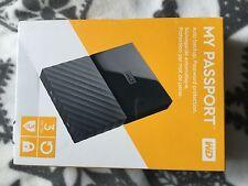 WD my passport Disque Dur Externe Portable 3 To - USB 3.0 - coloris noir