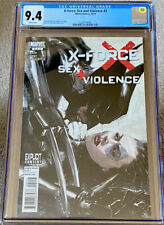 X-FORCE SEX AND VIOLENCE #2 1ST PRINT CGC 9.4 DELL'OTTO COVER X23 WOLVERINE NM