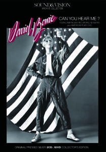 DAVID BOWIE / CAN YOU HEAR ME? Recorded Live Young Americans Tour 1975 [2CD+DVD]