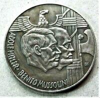 WW2 GERMAN COMMEMORATIVE COLLECTORS REICHSMARK COIN .../