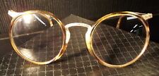 Vtg American Optical FulVue Round Tort Mattel/Eyeglass Frames 1/10 12KGF 30-40's
