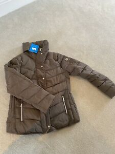 Coldstream Kimmerston Riding/Equestrian Padded Jacket Coat - Taupe Large BNWT