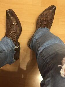 Sendra Python Cowboystiefel Westernstiefel 43