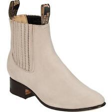 Men's Potro Rebelde Finest Suede Charro  Botin Handcrafted Quality Boots