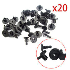 20pcs For Mazda 9S9AK-07332 Retainer Rivet Fender Splash Shield Clips 7 mm Hole