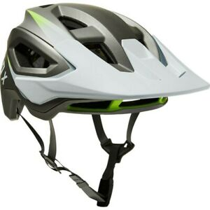 Fox Speedframe Pro MIPS Helmet - Size Large (L) - Color Silver/White