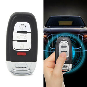 Replacement Smart Remote Key Shell Case Fob 4Buttons For Audi A3 A4 A5 A6 Q5 Q8