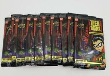(10) Teen Titans Series 1 Booster Pack Card Game