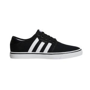 Adidas Seeley Black White Gum Unisex Skateboard Shoes