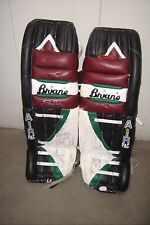 PHOENIX COYOTES Sean Burke game-worn goalie pads 2000-2001 (auto'd/photomatched)