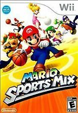 Super Mario Sports Mix Complete in original case w/ Manual great shape Wii