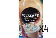 Nescafe Ice Java 470 ml x 4 bottles CAPPUCCINO New Fresh Sealed