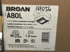 Broan A80L InVent Series Bathroom Fan New In Box