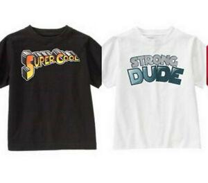 GYMBOREE Boys Size 3 4 5 or 6 Super Hero Short Sleeve Cotton Shirt Choice NWT
