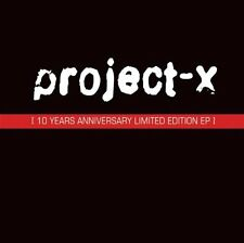 "PROJECT-X 10 Years Anniversary EP 3""CD 2005 LTD.500"