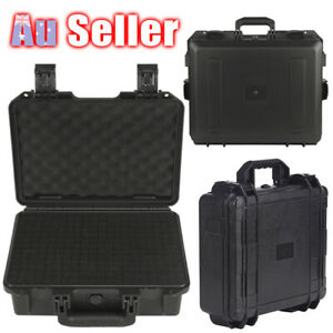 Carry Portable Hard Storage Box Bag Organizer Tool Waterproof Plastic Case ACB#