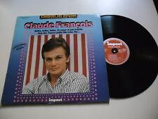 33 TOURS / LP--CLAUDE FRANCOIS--DISQUE D'OR - ENREGISTREMENTS ORIGINAUX