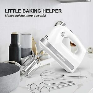 Lord Eagle Hand Mixer Electric, 400W Power handheld Mixer for Baking Cake Egg +